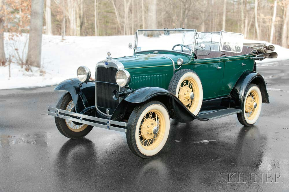 Antique Car Auction | Classic Car Appraisal | Skinner Auctioneers ...