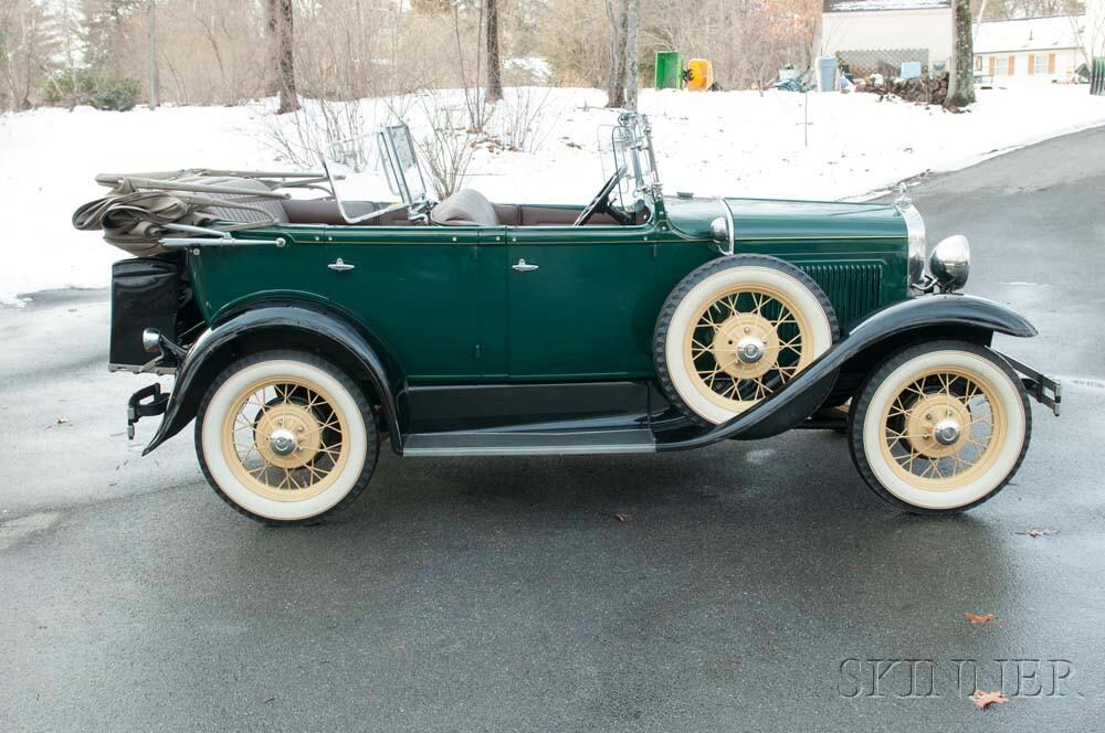 1930 Ford Phaeton