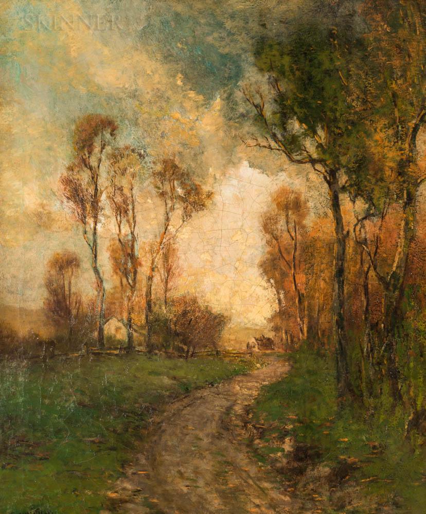 Edward Loyal Field (American, 1856-1914)      Autumnal Country Path