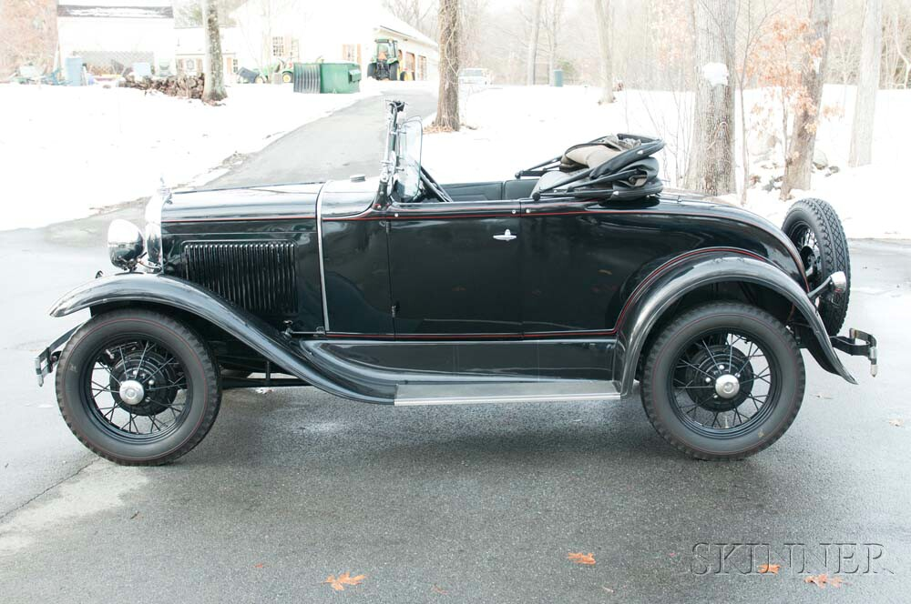 1931 Ford Model A Standard Roadster