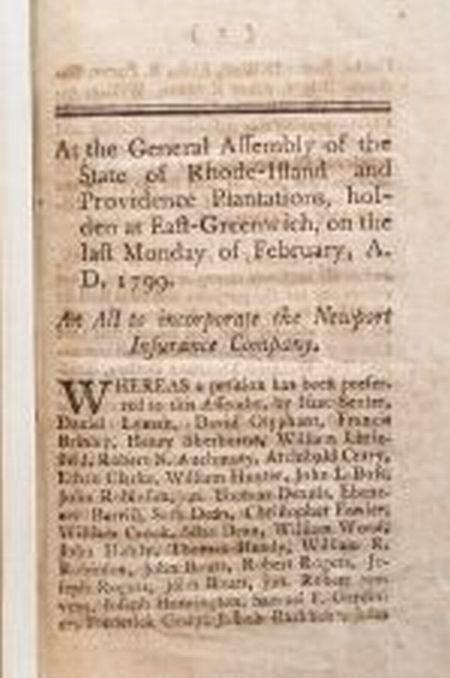 (Newport, 18th Century)