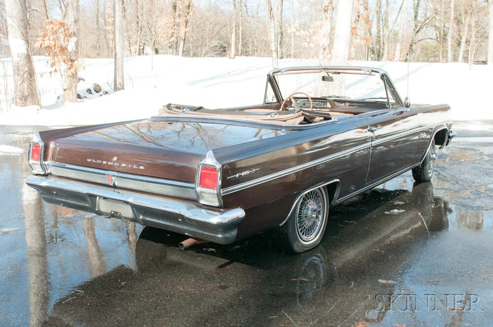 1963 Oldsmobile Cutlass Convertible