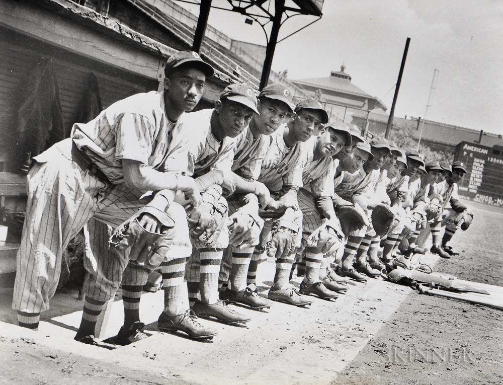 Photograph of Negro League Baseball Team, The Cubans