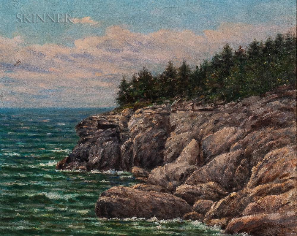 American School, 20th Century      New England Coastal Scene