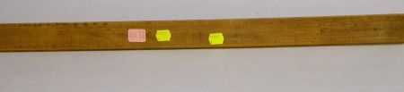 Early 19th Century Wooden Calculating Ruler