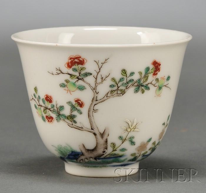 Wucai Wine Cup