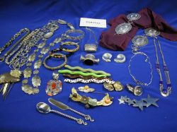 Assortment of Silver, Designer and Costume Jewelry.