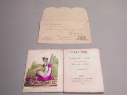"""""""Delphine"""" French Paper Doll Story Book"""