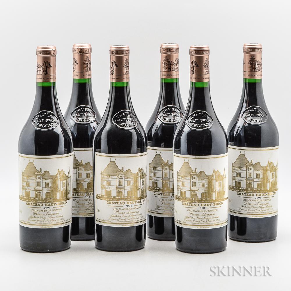 Chateau Haut Brion 2001, 6 bottles