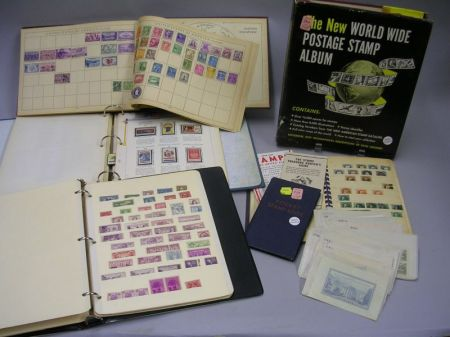 Six Albums/Stock Books of U.S. Postage and Commemoratives