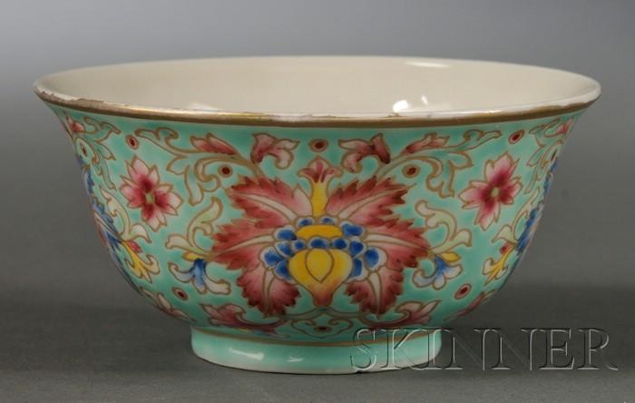 Turquoise Teacup