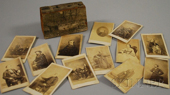 Thirteen Cartes de Visite of Notable 19th Century Figures