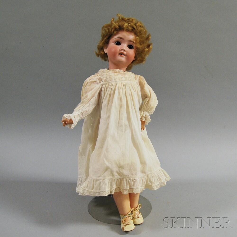 Kley & Hahn Bisque Socket Head Doll