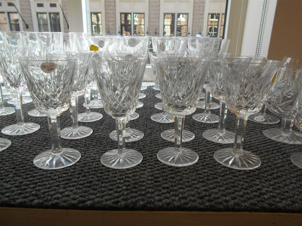 Set of Waterford Crystal Lismore