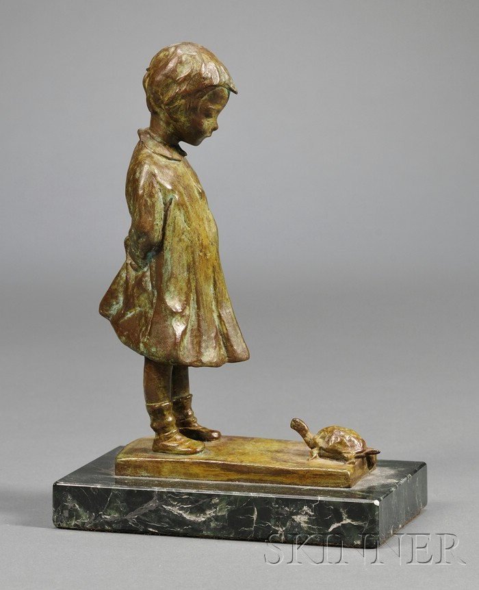 Martha Jackson Cornwell (1865-1955) Bronze Sculpture
