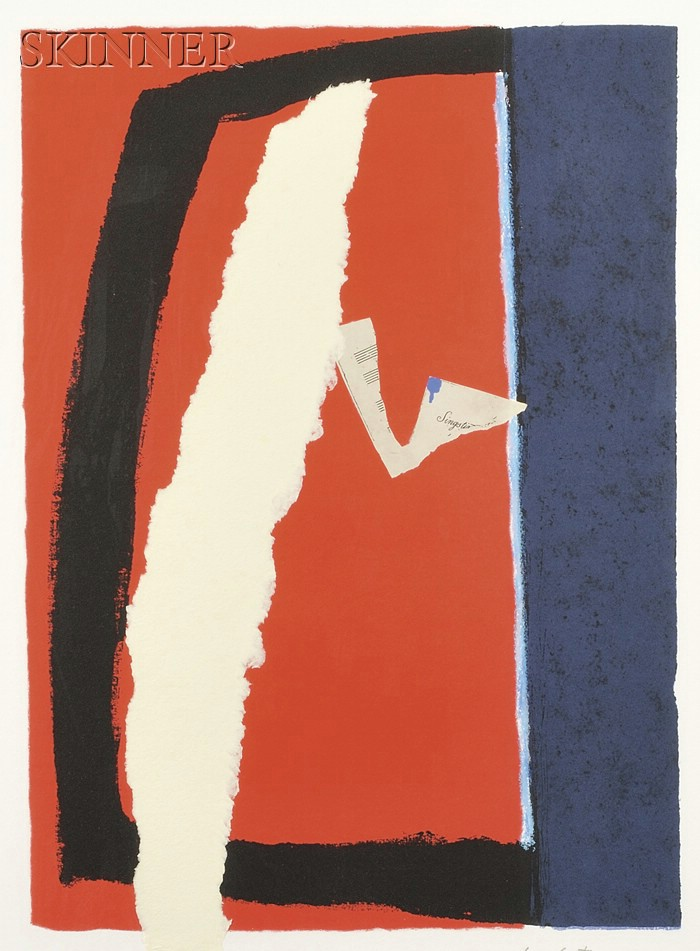 Robert Motherwell (American, 1915-1991)      Game of Chance