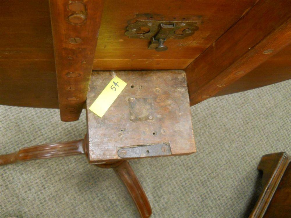 Louis XVI Mahogany Tilt-top Table