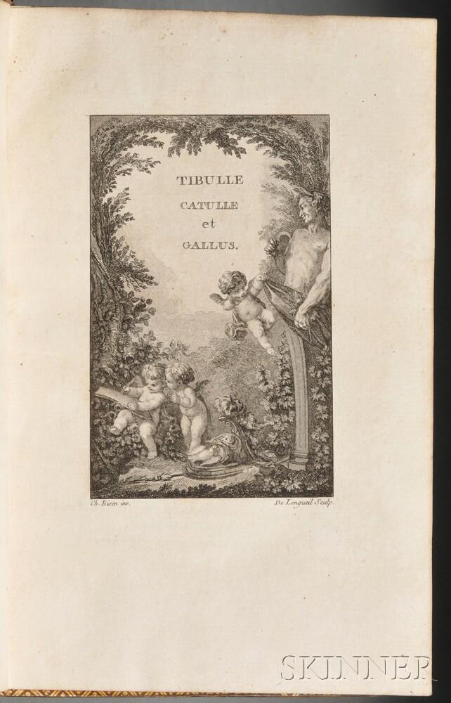 Catullus (c. 84 BC-c. 54 BC) and Tibullus (c. 55 BC-19 BC) Traduction en Prose de Catulle, Tibulle et Gallus