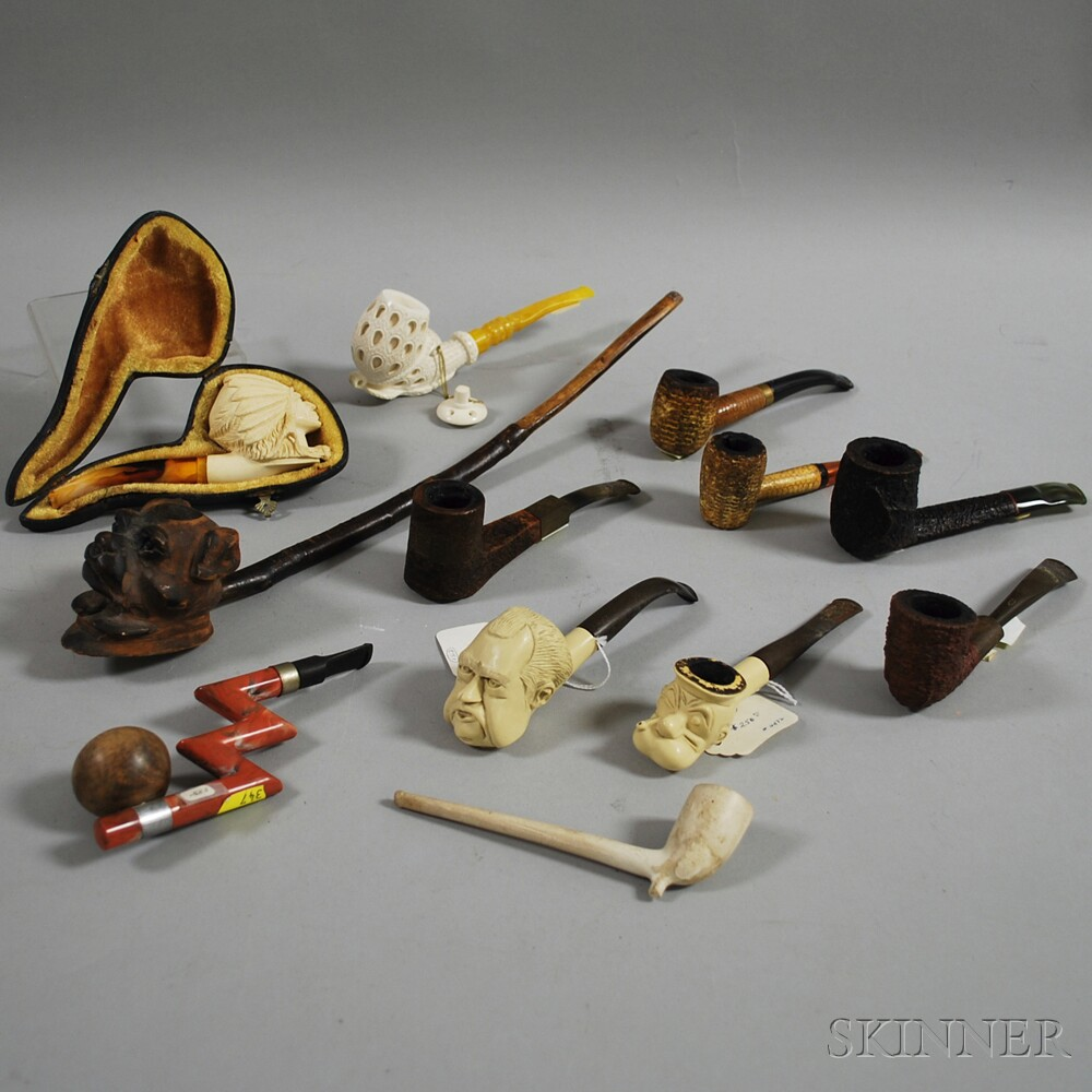 Group of Miscellaneous Pipes