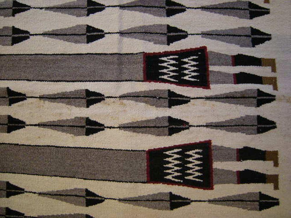 Large Navajo Yei Rug