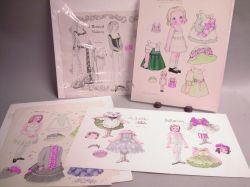 Helen Page Paper Doll Sheets