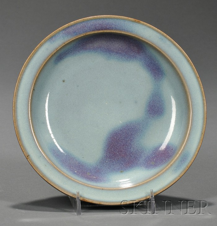Jun-type Saucer Dish