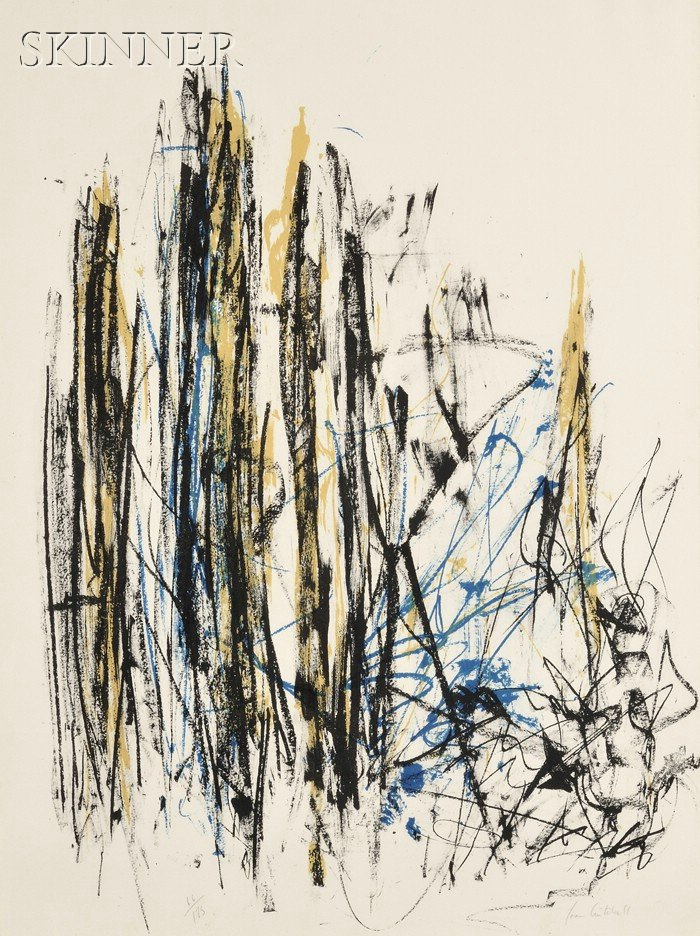 Joan Mitchell (American, 1925-1992)      Untitled:  Trees 2