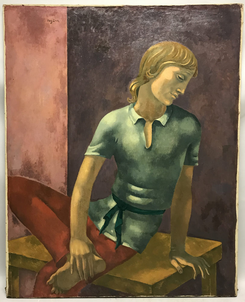 Eugeniusz Zak (Polish, 1884-1926)      Young Acrobat