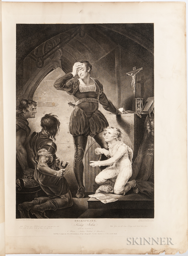 Boydell, Josiah (1719-1804) The American Edition of Boydells Illustrations of the Dramatic Works of Shakspeare, by the Most Eminent Ar