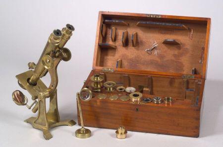 Binocular Microscope by Henry Crouch