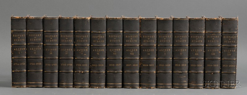 (Decorative Bindings), Alison,  Sir Archibald (1792-1867)