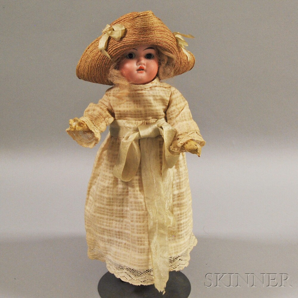 Gebrüder Knoch Bisque Socket Head Girl Doll