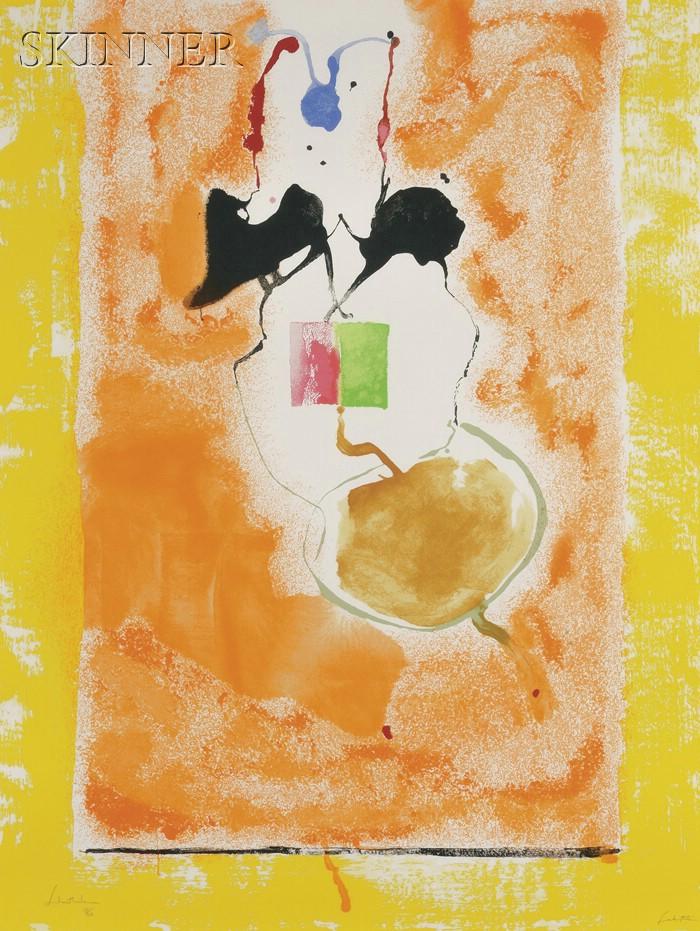 Helen Frankenthaler (American, b. 1928)      Solar Imp