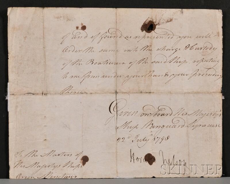Nelson, Viscount Horatio Nelson (1758-1805)