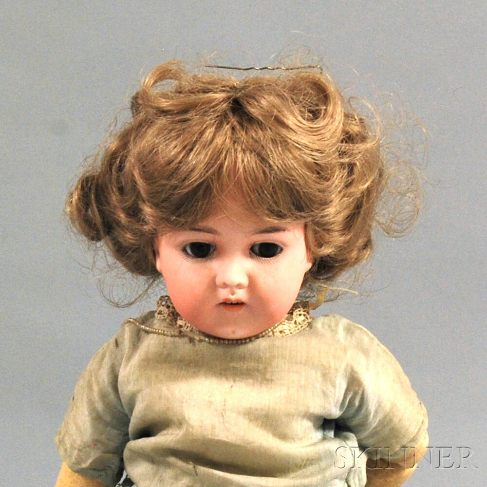 Karl Hartmann Bisque Head Girl Doll