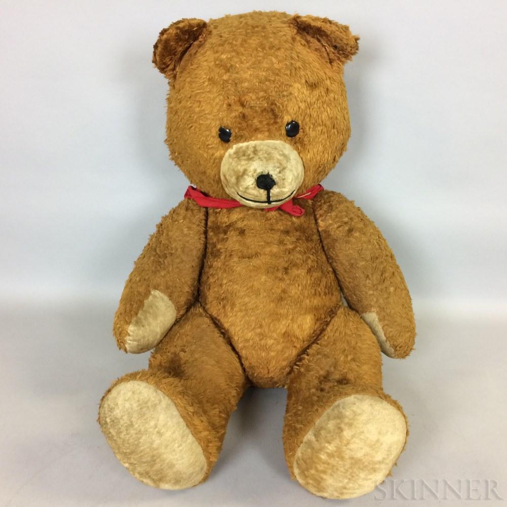 Large Articulated Stuffed Teddy Bear