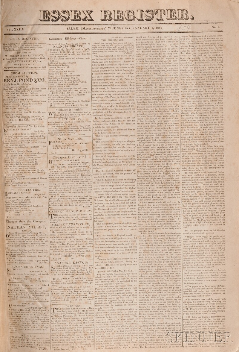 (Newspapers, 19th century)