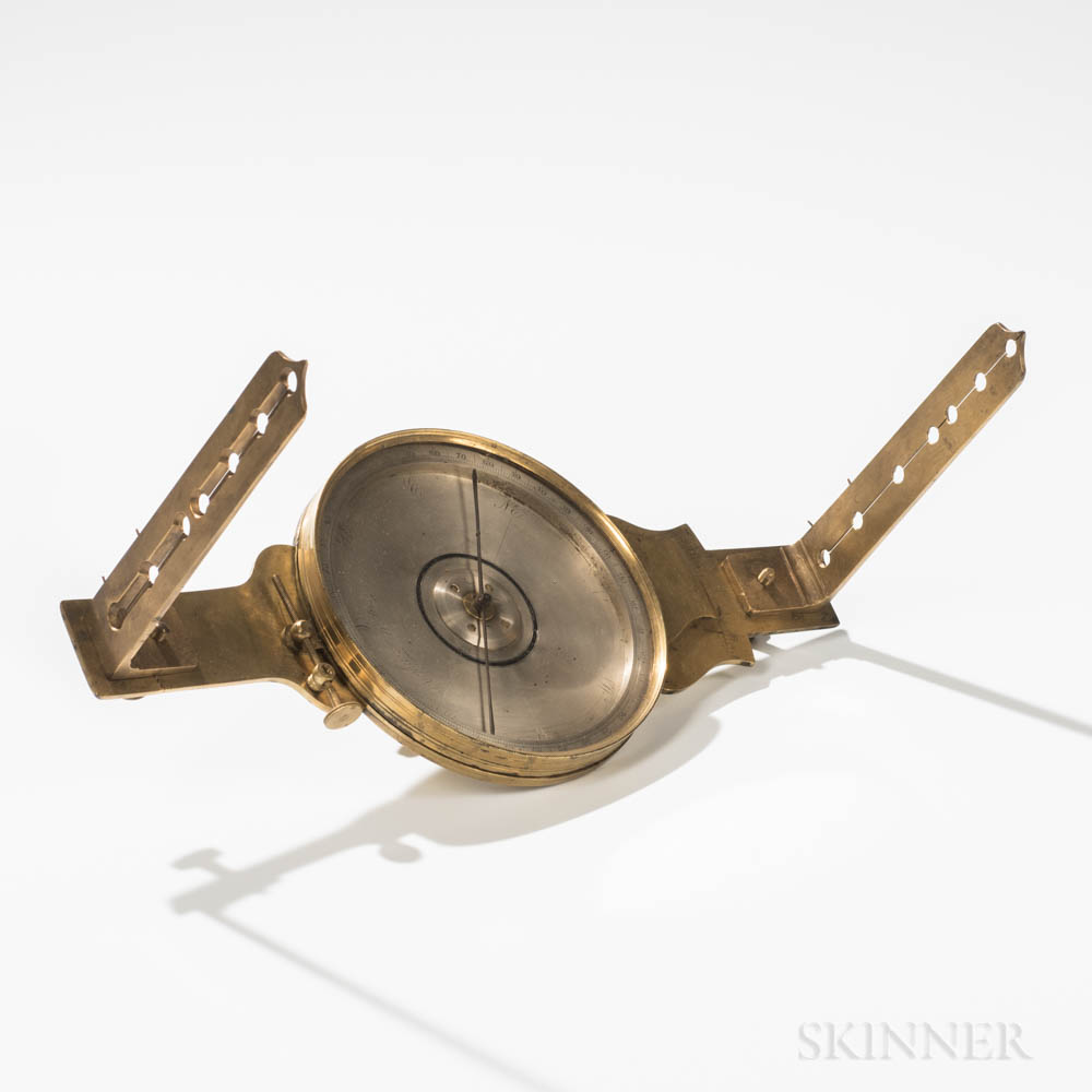 Early James Reed Vernier Compass