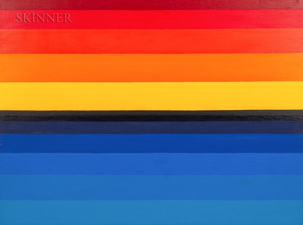 Reba Stewart (American, 1930-1971)      Stripe Study