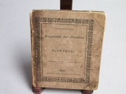 """Transformation Book """"Requisites for Dandies of Both Sexes,"""""""
