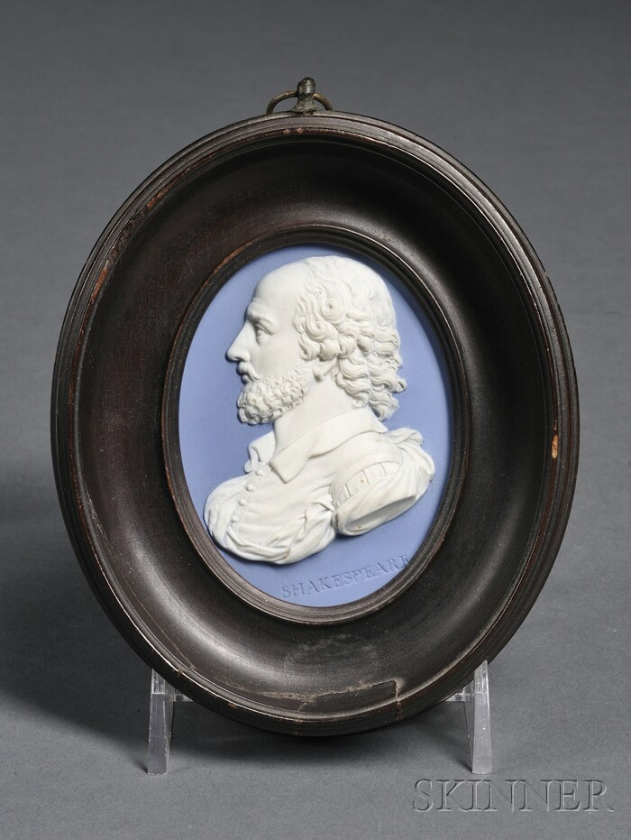 Wedgwood & Bentley Portrait Medallion