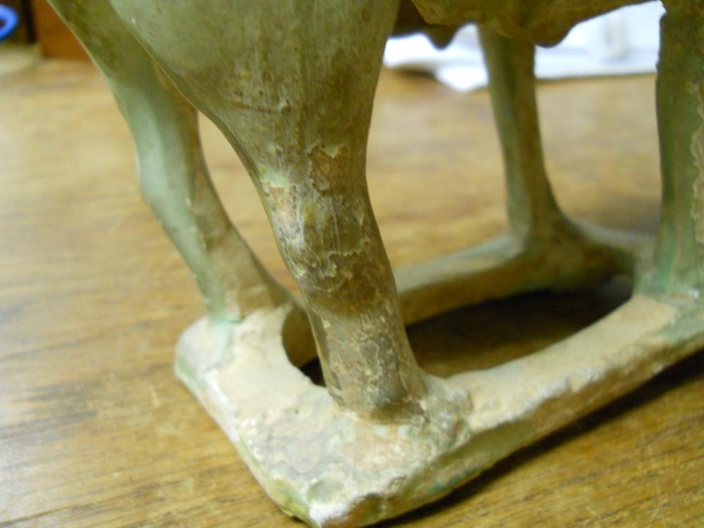 Pottery Standing Ram