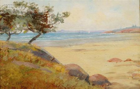 Nathaniel Leander Berry (American, 1859-1929)      Whale Beach, Near Galloupe's Point, Swampscott
