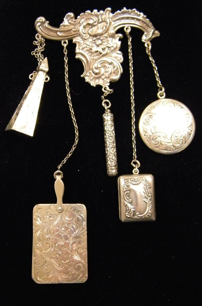 Group of Sterling Silver Lady's Items