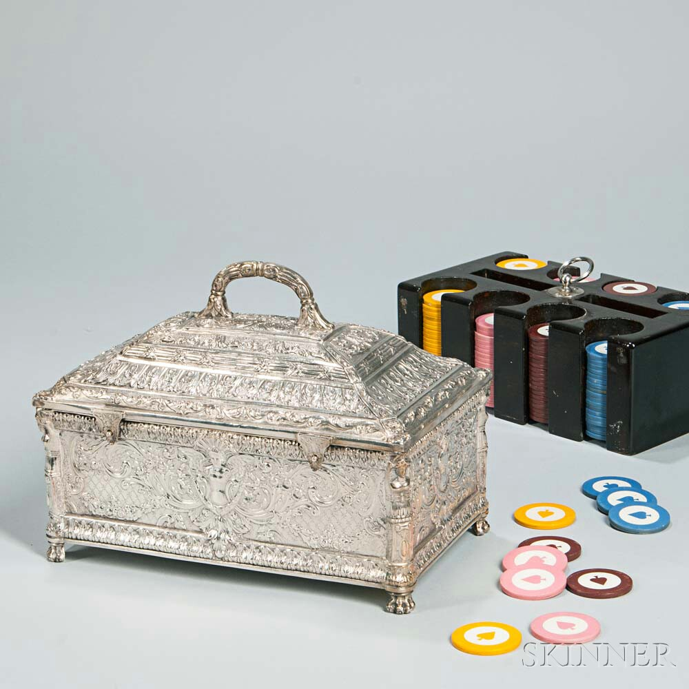 Silver-plate Poker Chest