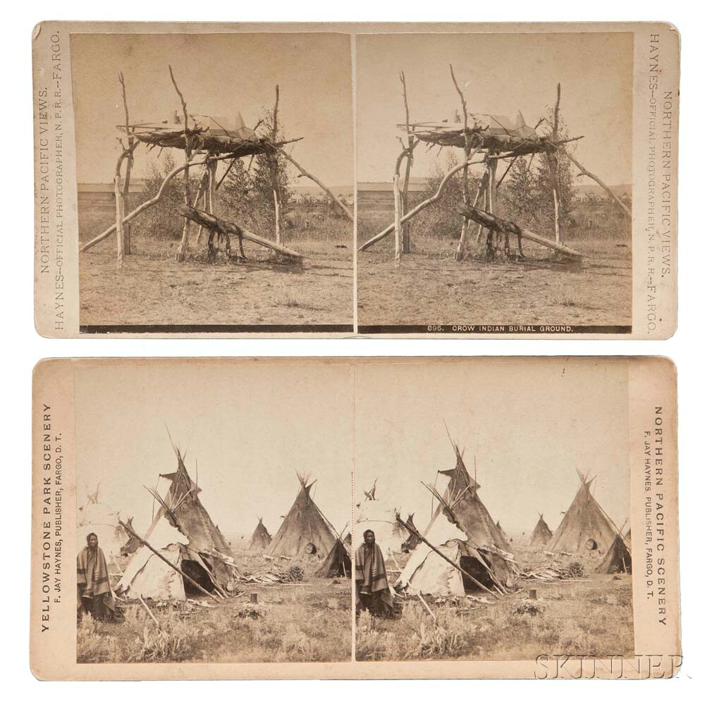 Two Photographs by F. Jay Haynes