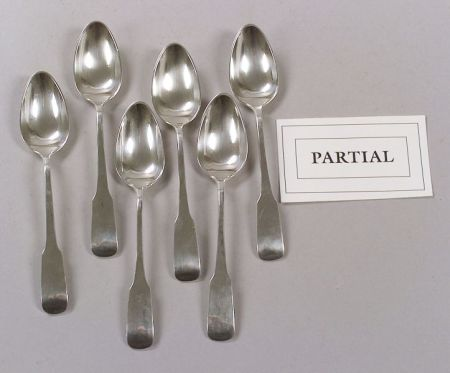 Twenty-one Sterling Silver Tablespoons