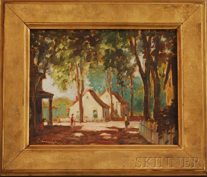 John Gilmore Wolcott (American, 1891-1965)      Provincetown.