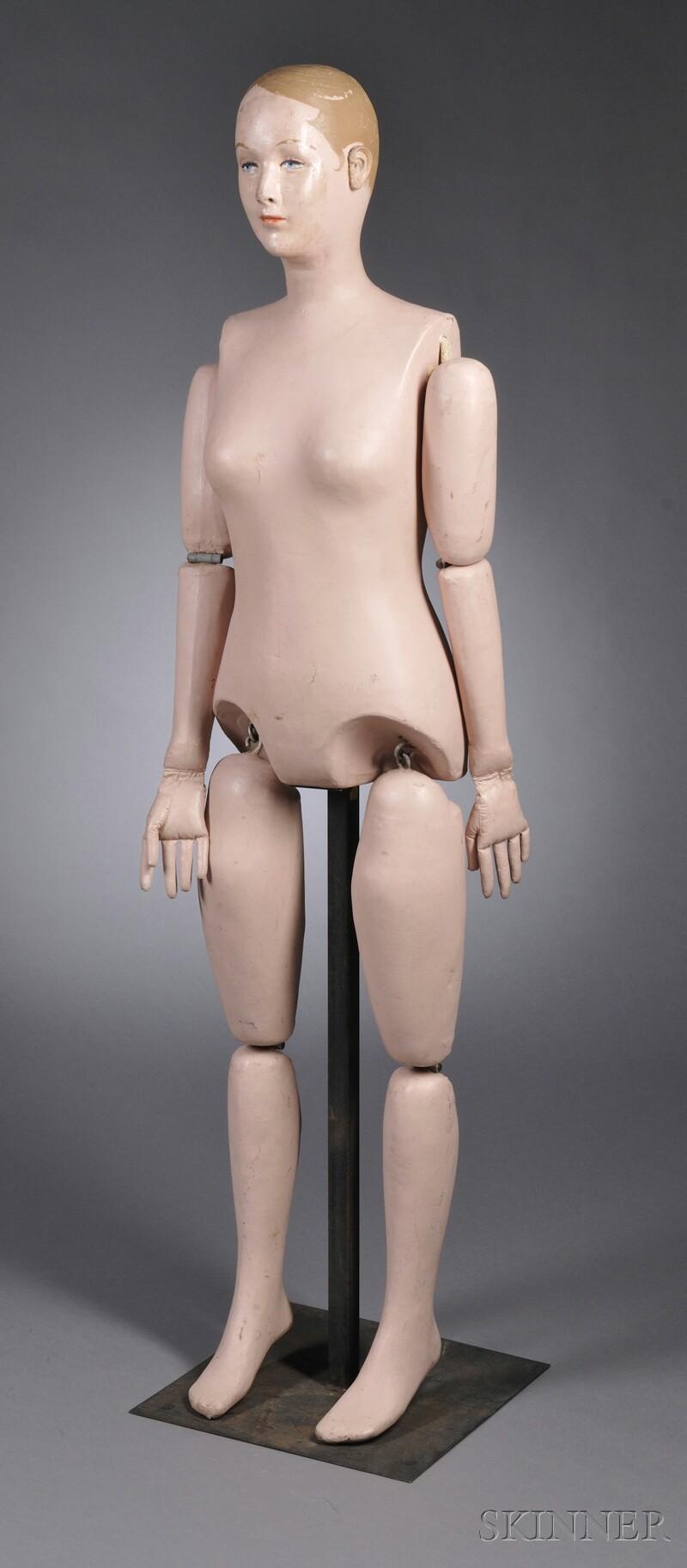 "Martha Chase Adult Female ""Sanitary Doll,"""