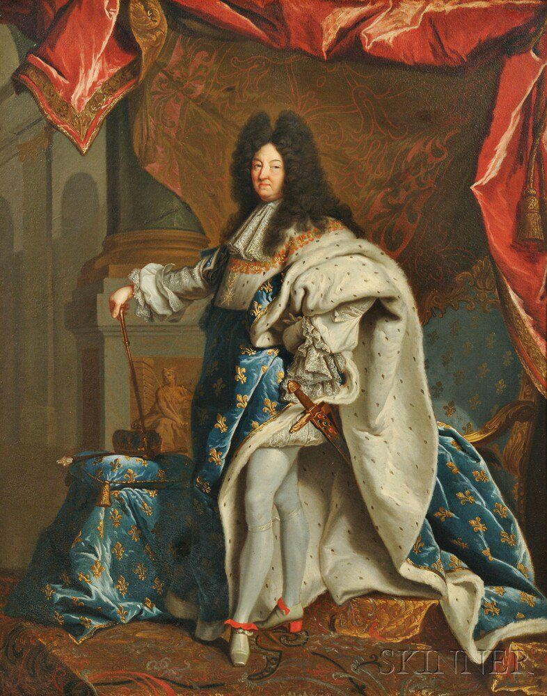 Studio of Hyacinthe Rigaud (French, 1659-1743)      Louis XIV